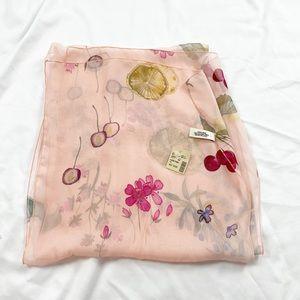 NWT Joy Susan 100% silk scarf